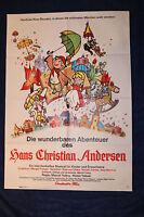 Kino Plakat - Die wunderbaren Abenteuer des Hans Christian Andersen 1968
