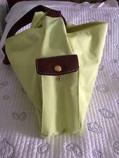 Longchamp le Pliage Large Hobo Bag, Lime Green