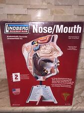 LINDBERG SCIENCE KITS NOSE & MOUTH MODEL KIT NEW858280713109