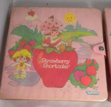 Vintage 1984 Strawberry Shortcake Case IN GREAT SHAPE!