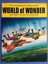 World of Wonder - no.105-25th March 1972 -the EMOCIONANTE REVISTA para niños