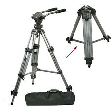 Professional Studio Heavy Duty Tripod Fluid Head Bowl for DSLR Camera Camcorder