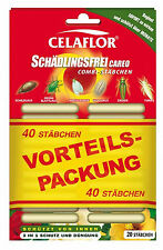 CELAFLOR Schädlingsfrei Careo 40 Combi-Stäbchen gegen Blattläuse mit NPK Dünger