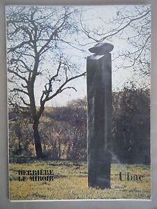 Derrière le Miroir, UBAC - N°251 1982 - 2 LITHOGRAPHIES ORIGINALES