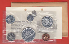 1962 Original Silver Canada RCM Proof Like Mint Silver Set PL COA + Envelope