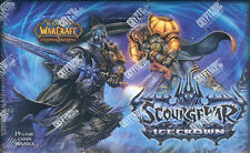 WOW World of Warcraft TCG ScorgeWar: Icecrown factory sealed booster box. NEW