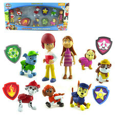 8PCS PAW PATROL RYDER MARSHALL RUBBLE SKYE CHASE ACTION FIGURE KID FIGURINES TOY