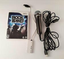 Rock Band Wii Game, Microphone, 4 Port USB Hub