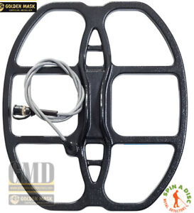 """12x15"""" search coil for golden mask metal detectors"""