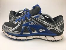 Brooks Adrenaline GTS 17 Running Shoes Gray Blue Men's SZ 9 D Medium