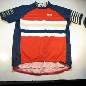 NEW VOLER REI CYCLING CYCLE BICYCLE BIKE JERSEY Mens XXL Multicolor