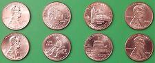 2009 US Lincoln Bicentennial Pennies Four P&Four D From Mint Rolls