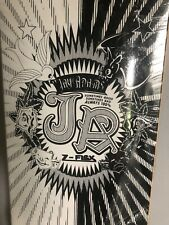 Signed Jay Adams Z-Flex Stateboard Deck Black White Dog Town Hosoi Venice ZBoyz