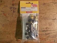 W-5002 Gold Shocks (Long) - Kyosho Turbo Optima Ultima Lazer Optima Mid Stinger