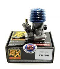 Novarossi Rex Car Engine 2.49cc (5 Ports) Big Block Rear Exhaust (TR15R)