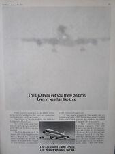 5/1973 PUB LOCKHEED L-1011 TRISTAR AIRLINER AIRLINES EASTERN TWA LTU DELTA AD