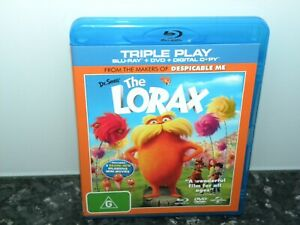 The Lorax - Dr. Seuss - Blu-Ray - VGC