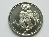 CFL Edmonton Eskimos Football Club with 1978 Commonwealh Games Stadium Medal