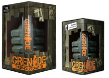 Grenade Thermo Detonator Reload Protein Flapjack 12 X 70g Energy Bar 44 Capsules Fused Fruit