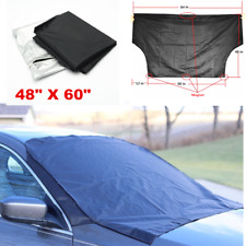 Car Accessories Windshield Snow Sun Cover Tarp Ice Scraper Frost Dust Removal
