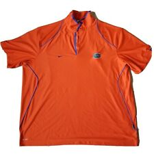 Nike Florida Gators Orange Polo Shirt 4XL