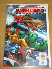 MARVEL COMICS PRESENTS #1 VANGUARD HELLCAT SPIDERMAN THE THING WEAPON OMEGA