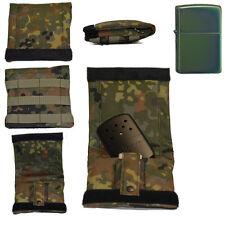 Fa. Scheibe Military Bag IDZ + Zippo chameleon + Zippo Handwärmer black matte