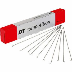 8X DT Swiss Competition J Bend 14 / 15 G = 2 / 1.8 mm Spoke Silver