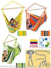 Amazonas XXL Bogota Hängesitz Hängestuhl Hängesessel gelb orange grün o. Zubehör