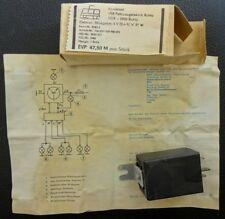 Neu ELEKTRONISCHER BLINKGEBER  MZ  6 V (2 +1) X 21 W OVP Originale DDR no Replik