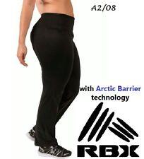 RBX $89 Black Wick/Moist Sweat Bootcut Yoga Pants Petite Cut Plus 3X L33 QCO