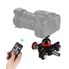 Mini Motorized Video Slider Track Dolly Rail W/ Ball Head for DSLR Camera H9Z3