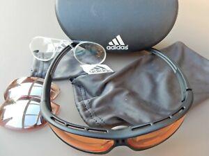 Adidas Sportbrille Evil eye, gebraucht- Artikel-Nr. A 127 6058 S - Größe S