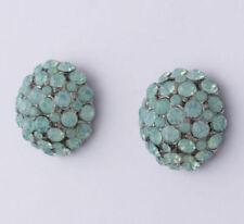 Opal Modeschmuckstücke aus Metall-Legierung mit Strass-Perlen
