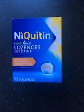 Niquitin Mint 4mg Lozenges. 72 Pack. Expiry 11/20