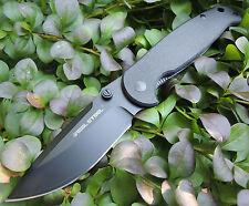 Real Steel Messer H6 Blue Sheep Taschenmesser schwarz 12C28N Sandvik Stahl