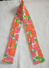 DROOL SCARF for Special Needs Tweens Adults Pink Orange Flowers Leaf Washable