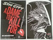 SDCC Comic Con 2014 Handout Dark Horse SIN CITY A Dame To Kill For posters X 2