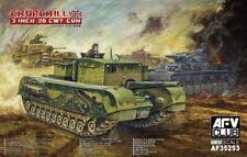 AFV Club 1/35 Churchill 3 Inch 20 CWT Gun # AF35253