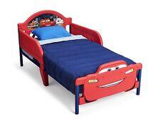 Toddler Bed Disney Pixar Cars Lightning Mcqueen Delta Children 3D-Footboard