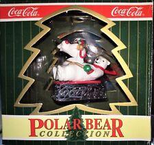 décoration de noël COCA COLA ornaments cavanagh POLAR BEAR ours polaire