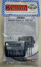Master Slave 6-30 V/DC (Stromflussschalter) / Modul Kemo-Electronic