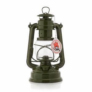 Olive Feuerhand Hurricane Lantern Storm Lamp Camping Lamp Paraffin Lamp
