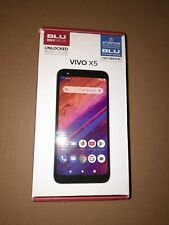 BLU VIVO X5 - UNLOCKED - 64GB - Black - Android - with Case