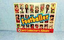 1981 TOPPS RARE SOCCER FOOTBALL CARD STICKER COLLECTORS ALBUM, MINT CONDITION