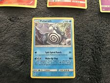 NEW POKEMON SUN & MOON POLIWRATH HOLO RARE 32/149