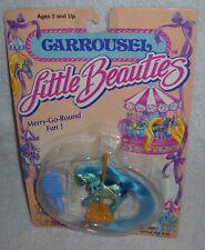 #9597 NOC Vintage Multi Toys Little Beauties Carrousel Horse