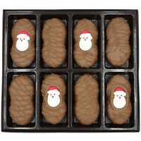 Philadelphia Candies Christmas Santa Claus Milk Chocolate Nutter Butter Cookies