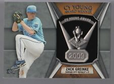 Zach Greinke CY Young Award Trophy Pin Plaque Ring Logo Patch Relic 2013 Topps