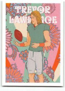 2021 Topps X Trevor Lawrence #34 Flower Power #1